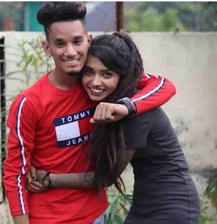 Wish Rathod with her brother